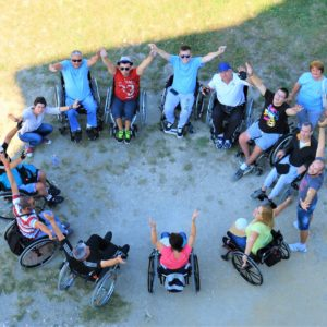Mentoring, training, support and engagement to lead an independent life as a wheelchair user