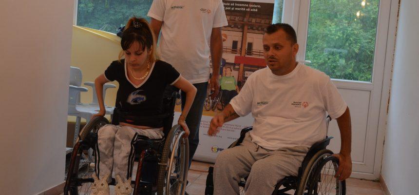 Caravana Mobilității și traiului independent: Adina