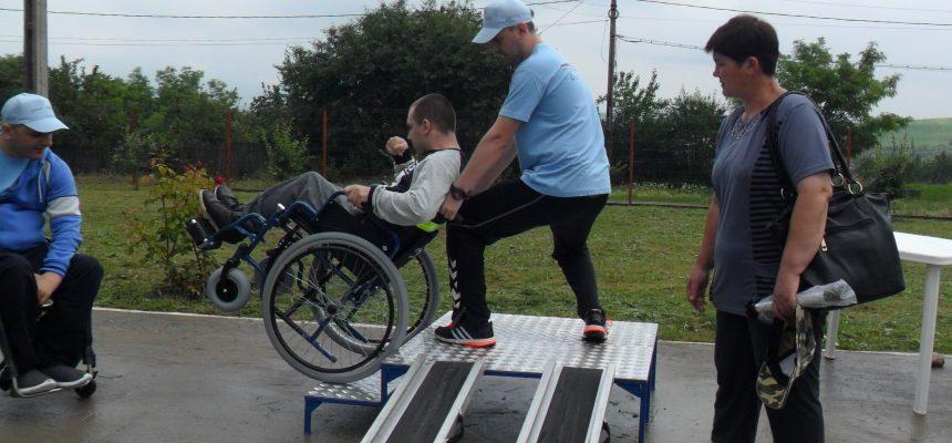 Caravana Mobilității și traiului independent ajunge în Galați