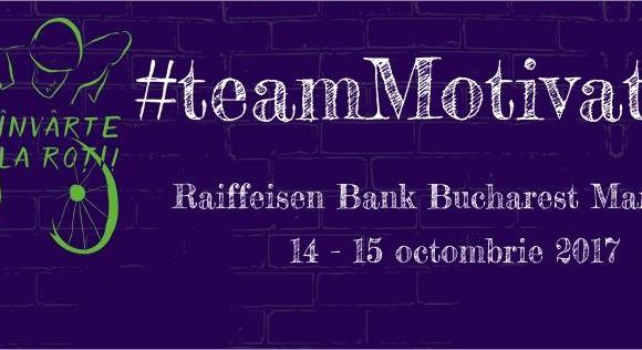 #TeamMotivation participă la Raiffeisen Bank Bucharest Marathon