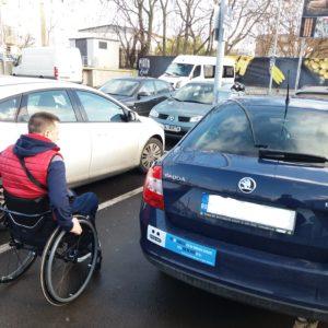 În 2017, peste 1700 de autovehicule sunt adaptate pentru șoferi sau pasageri cu dizabilități