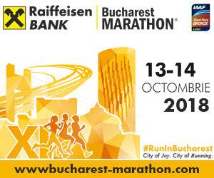 Aleargă la Maratonul Bucureşti Raiffaisen Bank în 13-14 octombrie 2018