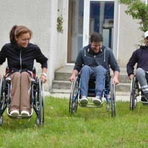Sesiuni de instruire pentru sănătate și viață activă în scaun rulant