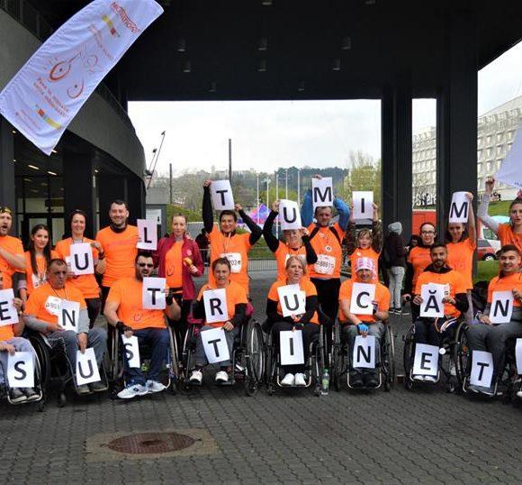 46 de vieți schimbate în bine prin participarea #TeamMotivation la Wizz Air Cluj-Napoca Marathon