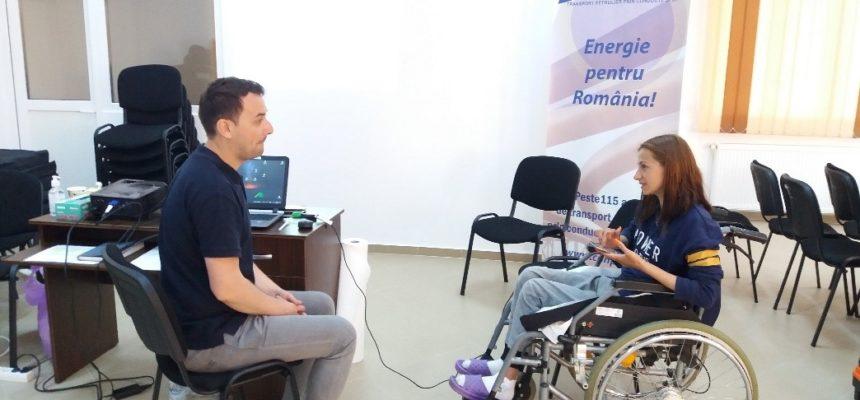 Vieți schimbate în bine: caravane pentru evaluarea sănătății și prevenirea escarelor  persoanelor în scaune rulante