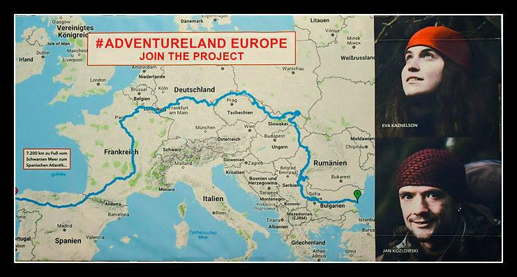 A 7,200 km hike through Europe to support social projects