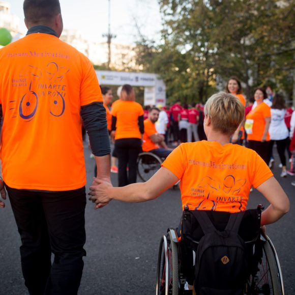 159 lives changed for the better by #TeamMotivation at Raifeissen Bank Bucharest Marathon 2018