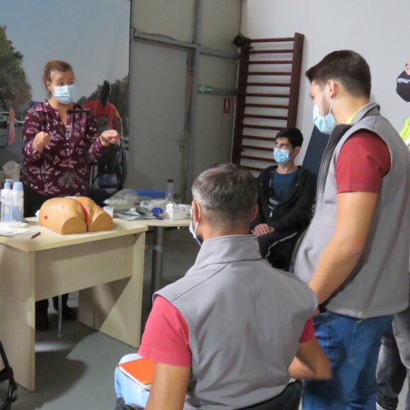 Training on prevention and treatment of pressure sores, conducted by Hartmann Romania