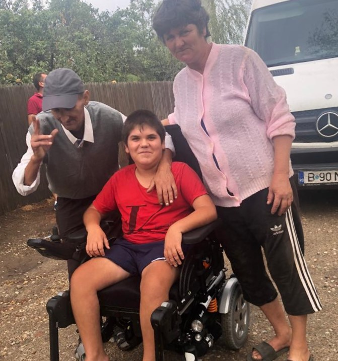 Lives changed for the better through the donation of electric wheelchairs