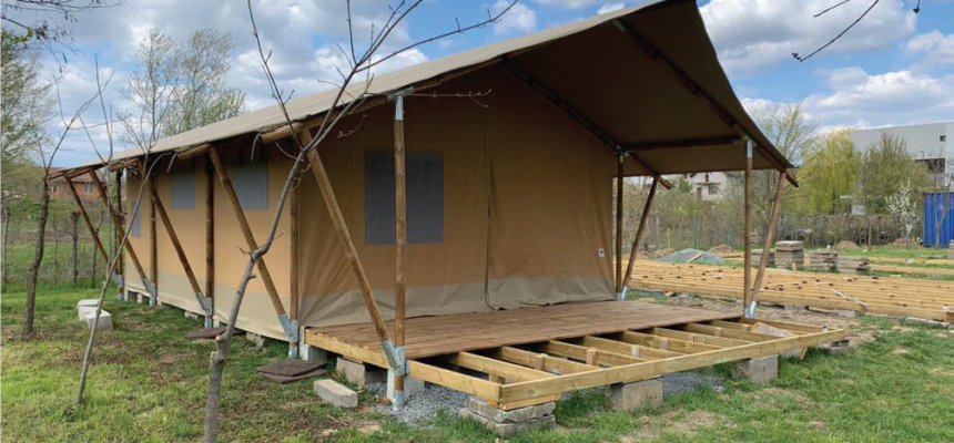 Active rehabilitation camp for people with disabilities