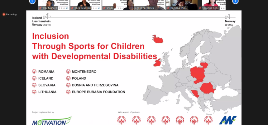 """""""Inclusion through sports for children with developmental disabilities"""" promotes equal opportunities through sports activities"""