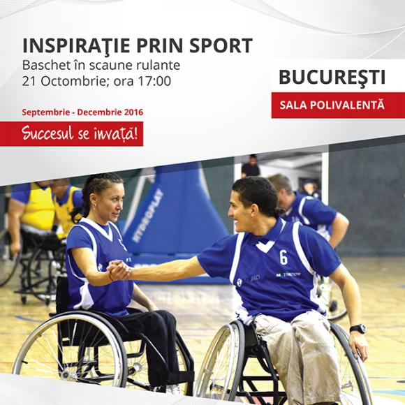 Inspirație prin sport