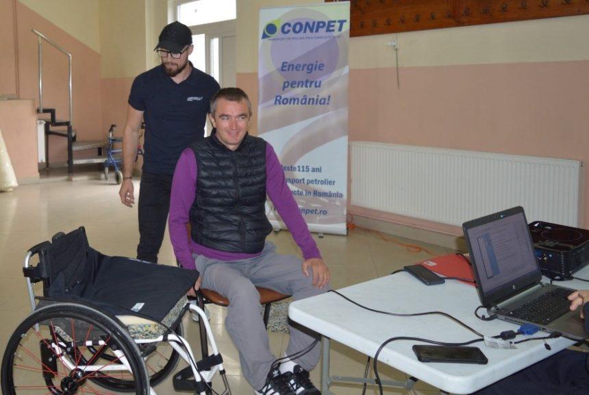 Risc mai mic de complicații medicale pentru 55 de utilizatori de scaune rulante dupa Caravanele pentru evaluarea sănătății și prevenirea escarelor