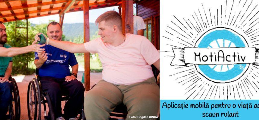 Sprijin la distanță, oferit de Motivation pentru utilizatorii de scaune rulante