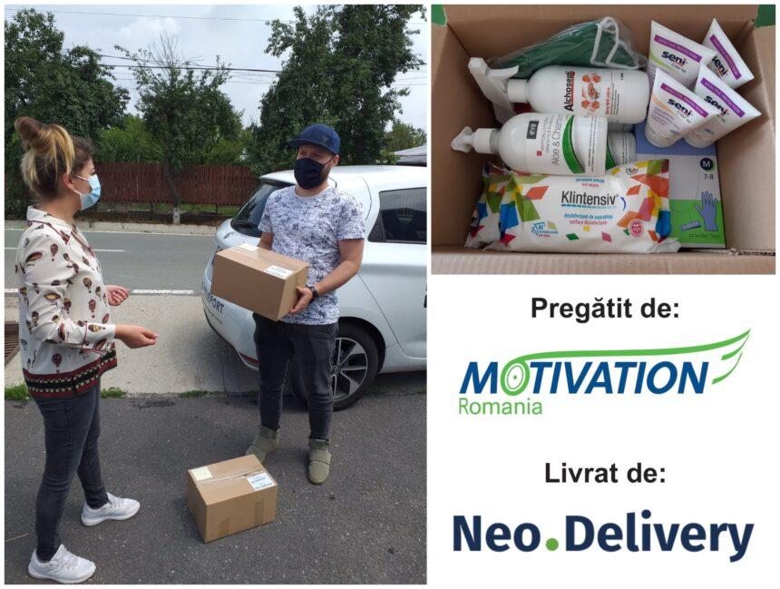 Prietenii de la Neobility s-au alăturat Motivation pentru a schimba vieți în bine!