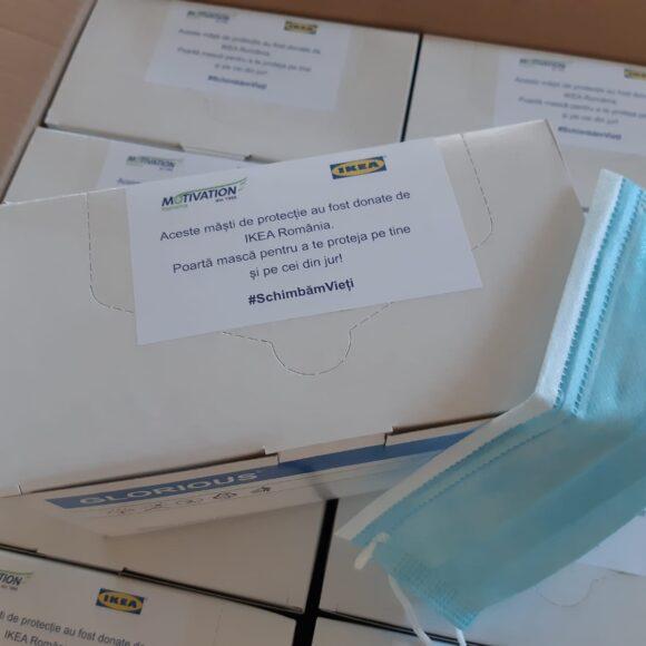 268 de persoane își vor proteja sănătatea datorită donației IKEA România pentru Fundația Motivation România