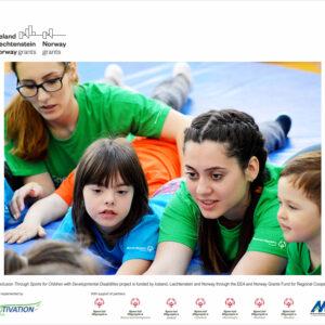 Copiii și tinerii cu și fără dizabilități intelectuale din șase țări vor participa împreună la activități și competiții sportive ce încurajează incluziunea