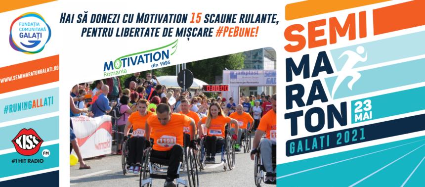 #TeamMotivation ia startul la Semimaraton Galați 2021