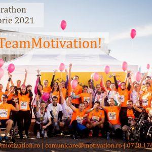 Hai la Maratonul Internațional București, în #TeamMotivation!